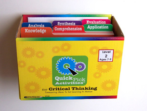 Quick Pick Activities for Critical Thinking Level 3 - Home