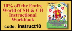 10% off The Entire World of SH and CH Instructional Workbook