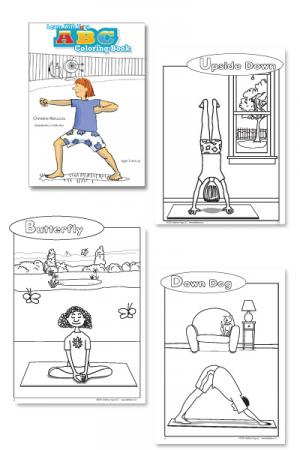 yoga coloring pages.html