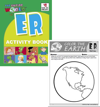 Entire World of ER Activity Book (Digital Download)