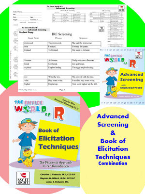 The Entire World of R Book of Elicitation Techniques &  Advanced Screening Combination Contains: EWR-035 EWR-037 EWR-037R
