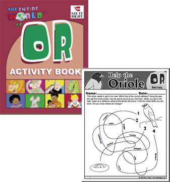 Entire World of OR Activity Book (Digital Download)