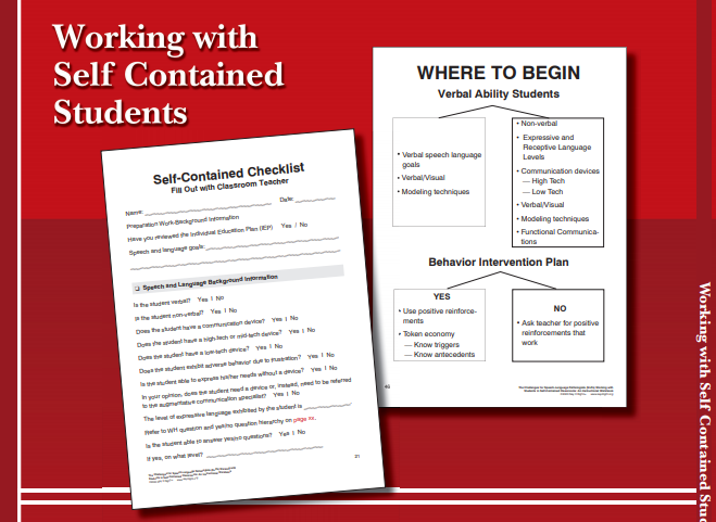 Working With Self Contained and Adaptive Students (Digital Download)