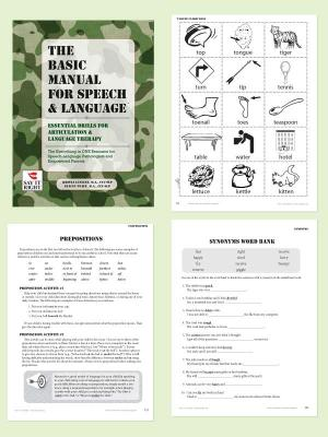The Basic Manual For Speech & Language (Digital Download)