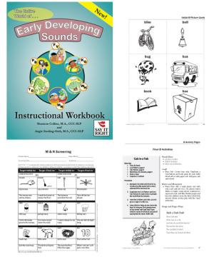 The Entire World of Early Developing Sounds Instructional Workbook (Digital Download)