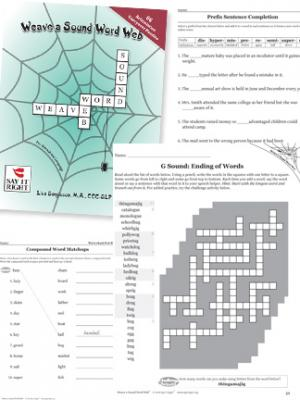 Weave a Sound Word Web  (Digital Download)