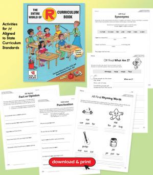 The Entire World of R Curriculum Book (Digital Download)