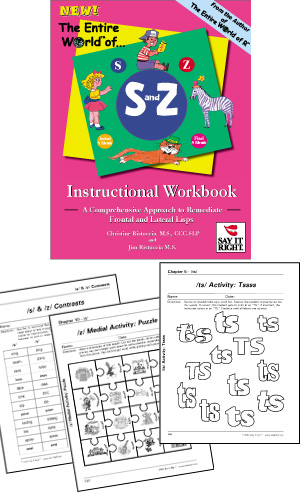 The Entire World of S and Z Instructional Workbook (Digital Download)