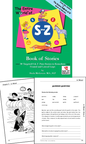 The Entire World of S and Z Book of Stories