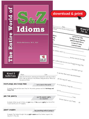 The Entire World of S & Z Idioms (Digital Download)