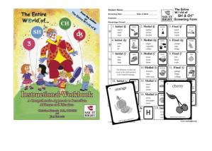 The Entire World of SH and CH Instructional Workbook  & Screening Kit ComboContains: EWSH-001 EWSH-003