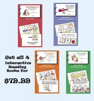 All 4 New Interactive Reading BooksContains: GP-09 GP-10 GP-11 GP-12