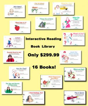 Interactive Reading Book LibraryContains: GP-01 THRU 16