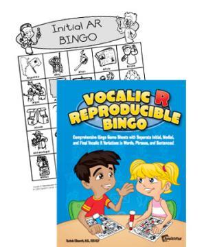 Vocalic R Reproducible Bingo