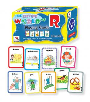The Entire World of R Playing Cards - 8 Deck Set