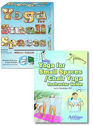 Yoga for Small Spaces Combo KitContains: YSS-001 YSS-003